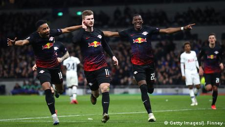 UEFA Champions League | Tottenham Hotspur v RB Leipzig | Tor 0:1 (Getty Images/J. Finney)