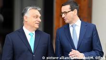 Mateusz Morawiecki und Viktor Orban