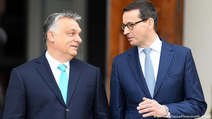 Mateusz Morawiecki și Viktor Orban