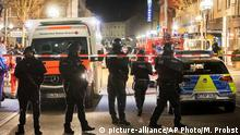 Deutschland Tote durch Schüsse in Hanau