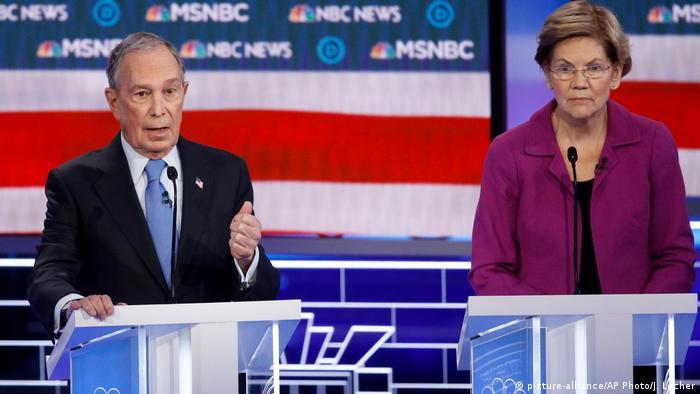 USA TV-Debatte der Demokraten   Michael Bloomberg