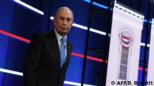 USA TV-Debatte der Demokraten | Michael Bloomberg (AFP/B. Bennett)