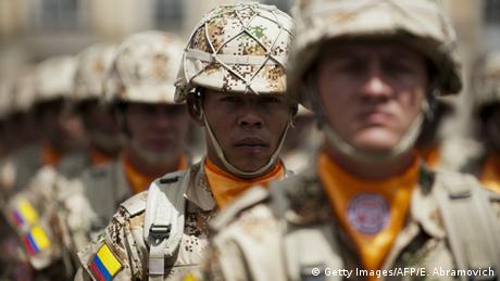 Kolumbien MFO Soldaten (Getty Images/AFP/E. Abramovich)