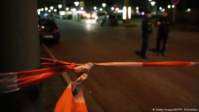 Deutschland Hanau | Schießerei & Tote, Angriff auf Shisha-Bars (Getty Images/AFP/Y. Schreiber)