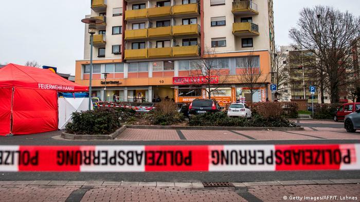 Mjesto zločina u Hanauu