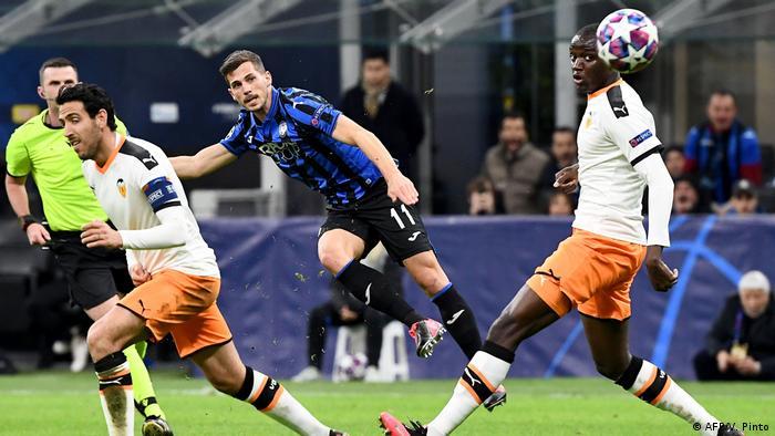Fußball Champions League Atalanta Bergamo vs Valencia (AFP/V. Pinto)