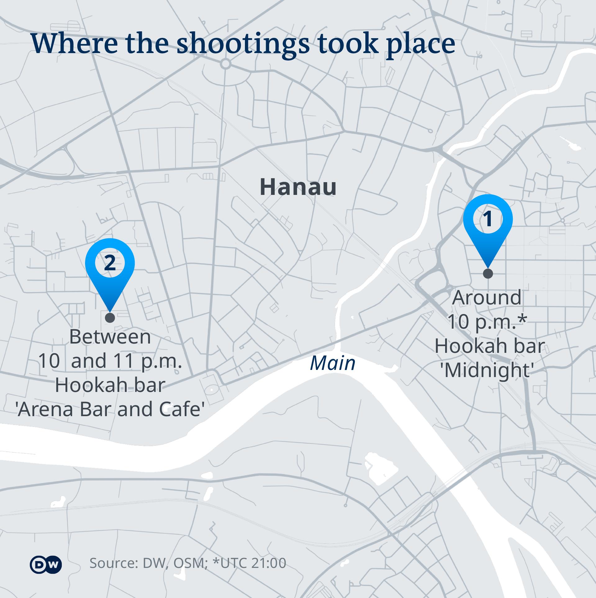 Hanau, penembakan
