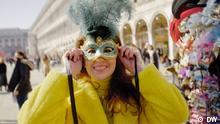 DW Euromaxx - Karneval - Meggin Leigh beim Karneval in Venedig