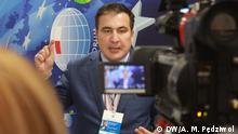 Polen | Micheil Saakaschwili auf dem Forum Europa-Ukraine 2020 in Rzeszów