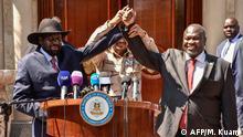 Südsudan Salva Kiir und Riek Machar | Entscheidigung für Einheitsregierung