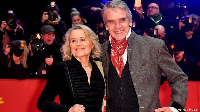 Berlinale 2020 - Eröffnungsgala - Jeremy Irons (AFP/J. Macdougall)