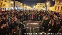 Stuttgart | Nach Schüssen in Hanau - Gedenken der Opfer