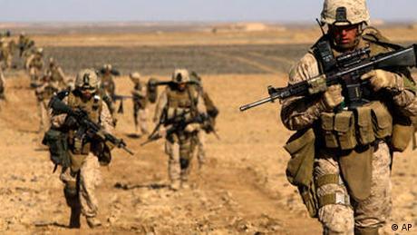 NO FLASH - US Marines in Afghanistan