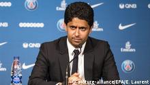 Fußball Präsident Paris St. Germain Nasser al-Khelaifi