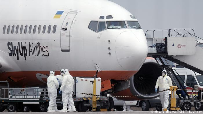 Літак авіакомпанії SkyUp