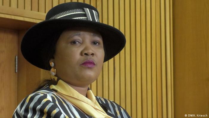 Lesotho Maseru | First Lady Maesaiah Thabane (DW/A. Kriesch)