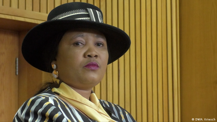 Lesotho First Lady Maesaiah Thabane