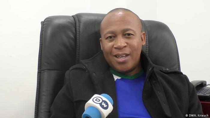 Lesotho opposition leader Mathibeli Mokhothu