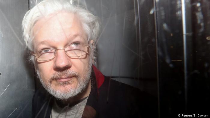 Основатель платформы WikiLeaks Джулиан Ассанж