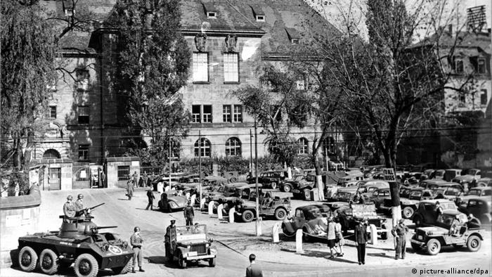 Nürnberger Justizpalast - Kriegsverbrecherprozeß