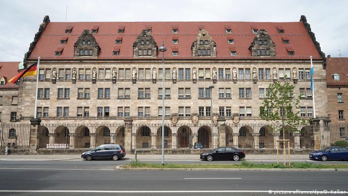 Deutschland Justizpalast in Nürnberg