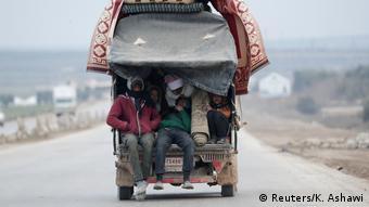 Syrien Azaz Flüchtlinge aus Idlib