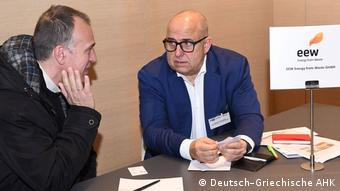 Ο Τόμας Όμπερμαγερ από τη γερμανική εταιρία EEW Energy from Waste