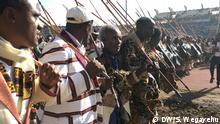 Demo in Hawassa Schlagworte Demo, Äthiopien, Hawassa, Fotograf Shewangizaw Wegayehu (DW Korri in Äthiopien) Datum 210220
