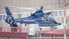Hannover MHH Hubschrauber der Bundespolizei