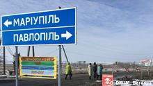 Truppenentflechtung in der Ostukraine