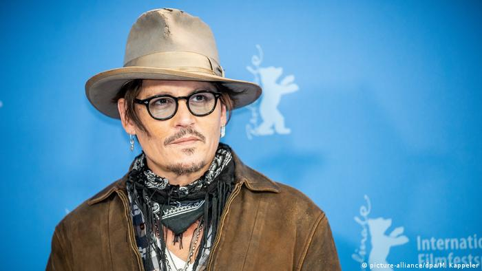 Berlinale 2020 Film Minamata Photocall Johnny Depp (picture-alliance/dpa/M. Kappeler)