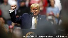US Wahlen Trump Auftritt in Phoenix