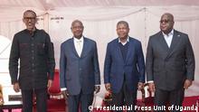 Ruanda Uganda Konflikt Treffen Grenzstreitigkeiten in Katuna