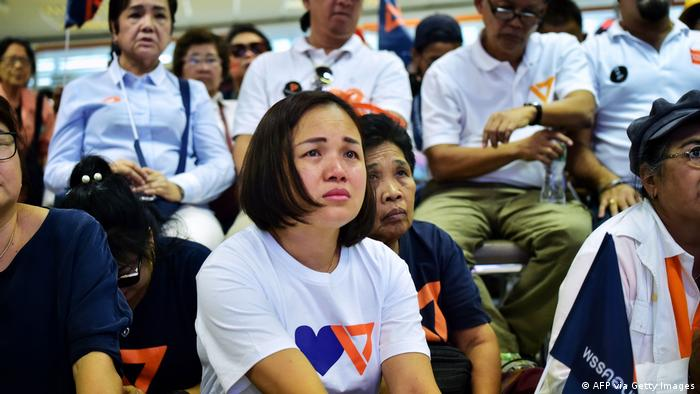 Thailand Verbot Future Forward Partei (AFP via Getty Images)