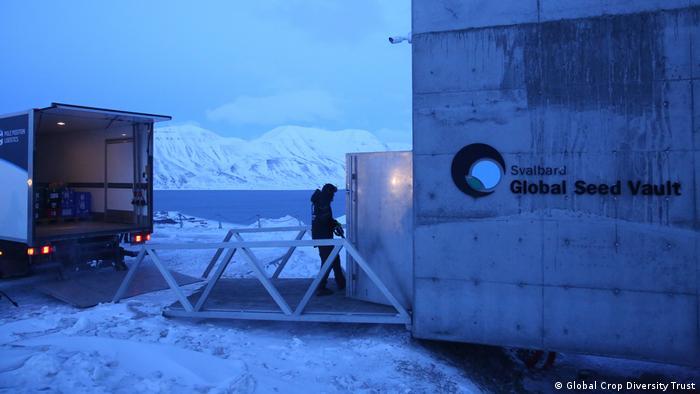 Svalbard Global Seed Vault, Noruega