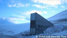 Entrance of the Svalbard Global Seed Vault 10th anniversary of Svalbard Global Seed Vault February, 2018