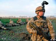 نیروهای بریتانیایی زیر فرماندهی ناتو در افغانستان