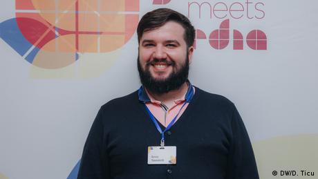 Youth Meets Media 2020 | Revaz Tateishvili (DW/D. Ticu)