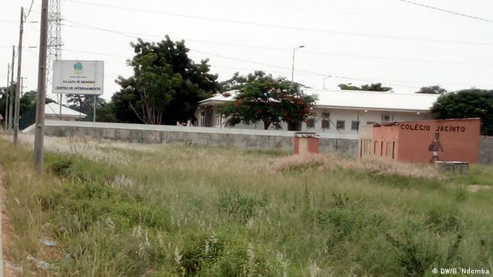 Centro de internamento na localidade de Cassaca 2, comuna de Calumbo