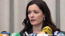 Zoriana Skaletska ukrainische Gesundheitsministerin
