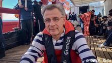 Reportage-Reise auf dem Rettungsschiff Ocean Viking Veranstalter: SOS Mediterranee und Ärzte ohne Grenzen Reporter: Miodrag Soric