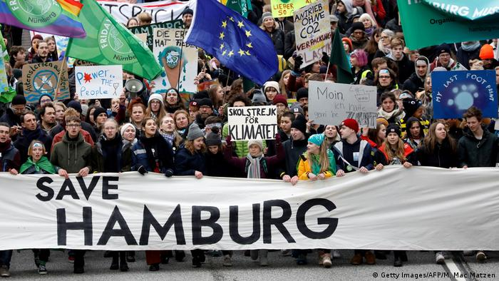 Fridays for Future in Hamburg, Germany (Getty Images/AFP/M. Mac Matzen)