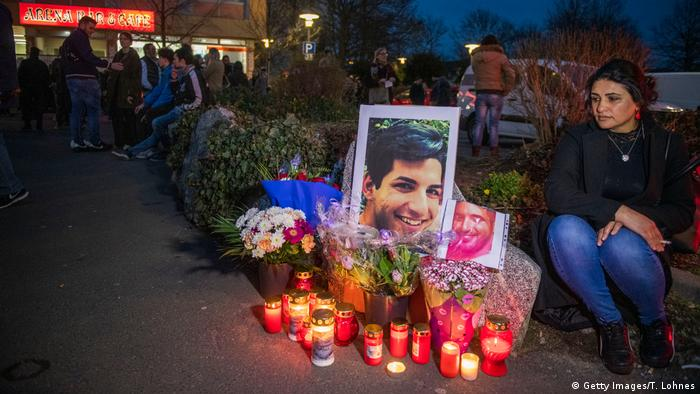 Deutschland Hanau | Gedenken an Terroropfer (Getty Images/T. Lohnes)