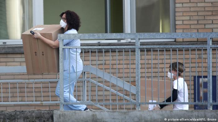 Erster Todesfall durch Coronavirus in Italien (picture-alliance/dpa/AP/L. Bruno)