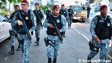 Brasilien Fortaleza Bereitschaftspolizei