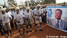 Togo Lome Anhänger von Präsident Gnassingbe