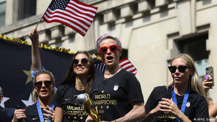 Us Women S Soccer Team Lose Case For Equal Pay News Dw 02 05 2020