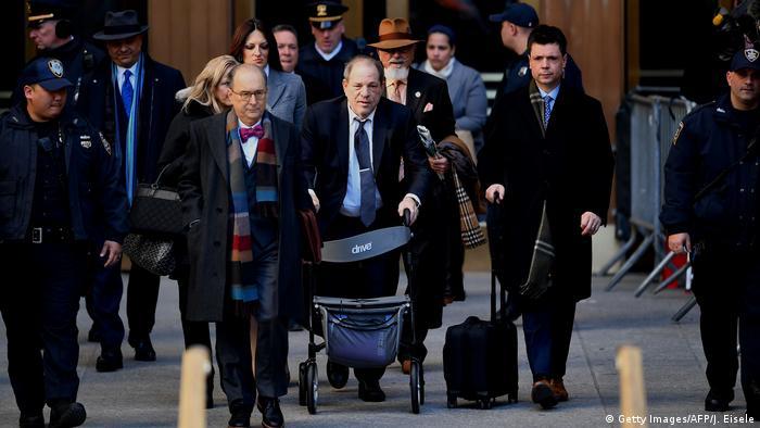 USA New York Weinstein Prozess