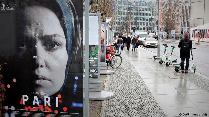 Deutschland 70. Berlinale Filmfestival Berlin l Plakatwerbung (DW/P. Kouparanis)