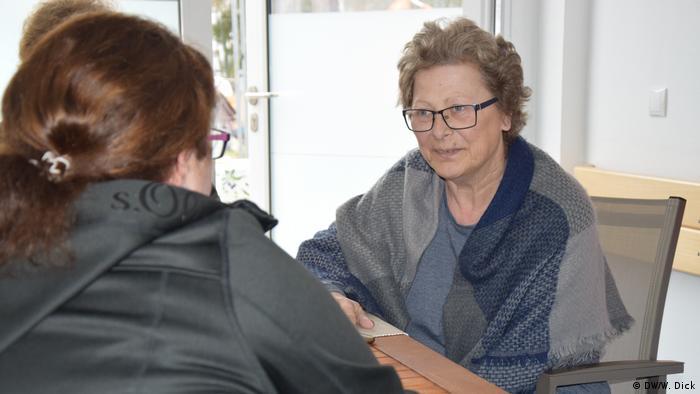 Terminally ill patient Melanie S. (DW/W. Dick)